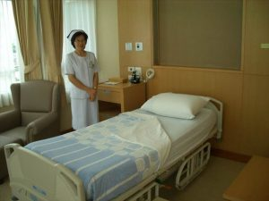 タイ病院個室